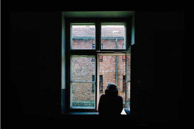 An opened window