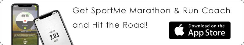 SportMe Marathon Trainer banner