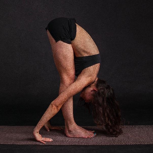Standing forward Bend yoga pose