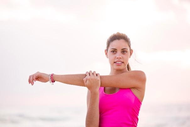 Cross body yoga poses